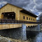 Covered Bridge by SPPhotography