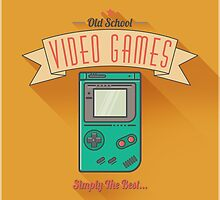 Old School Video Games by SolarShadow1