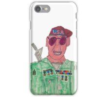 American Hero Soldier  iPhone Case/Skin
