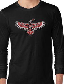 Tribal Crow Long Sleeve T-Shirt