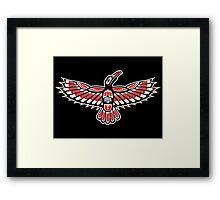 Tribal Crow Framed Print
