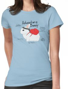 Adventure Bunny Womens Fitted T-Shirt