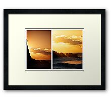 Avalon Diptych Framed Print