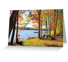 Placid Autumn  Greeting Card