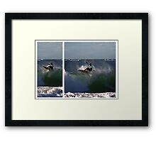 Floater Diptych Framed Print