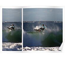 Floater Diptych Poster
