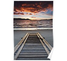 Coningham Beach Boat Ramp Poster
