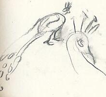 2Peacocks by WoolleyWorld