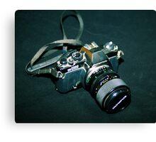 My first SLR camera Canvas Print