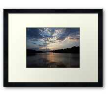 Reflected Glow Framed Print