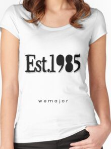 Est 1985 Women's Fitted Scoop T-Shirt