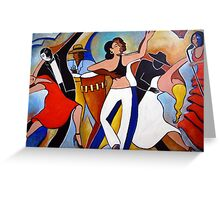 Caliente 10 Greeting Card