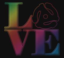 Vinyl Love 45 Baby Tee