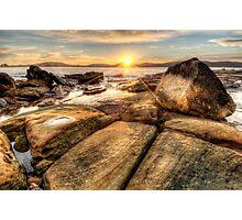 Umina Sunrise Sunrays Photographic Print