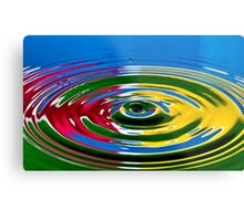 Primary Color  Metal Print