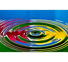 Primary Color  Photographic Print