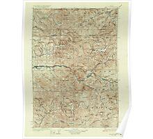USGS Topo Map Oregon Mill City 283206 1929 125000 Poster