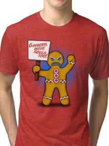 Gingers have souls too! Tri-blend T-Shirt