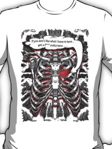 Heart in pain...  T-Shirt