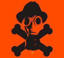 The Gas Mask W/Cross bones by Tobar