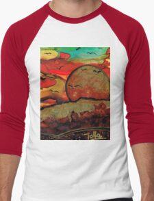 Emperor's Sun Men's Baseball ¾ T-Shirt