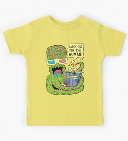Alien Monster Movie Kids Tee