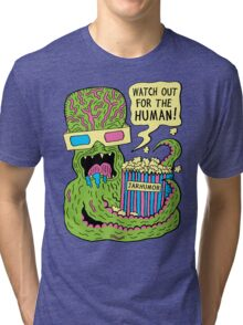 Alien Monster Movie Tri-blend T-Shirt