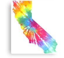 California Block Tie Dye  Metal Print