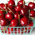 Basket of Cherries by CherylBee