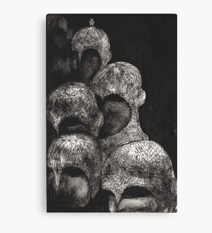 tough crowd Canvas Print