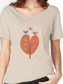 SweetyBirds - Love Birds Women's Relaxed Fit T-Shirt