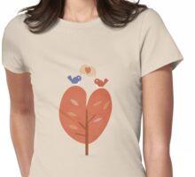 SweetyBirds - Love Birds Womens Fitted T-Shirt