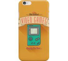 Old School Video Games iPhone Case/Skin