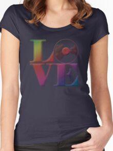 Vinyl Love Women's Fitted Scoop T-Shirt