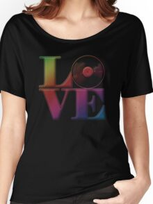 Vinyl Love Women's Relaxed Fit T-Shirt