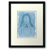 Imprisoned In Her Own Self Framed Print