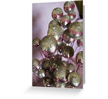 Pink...The Disco Reflections. Greeting Card