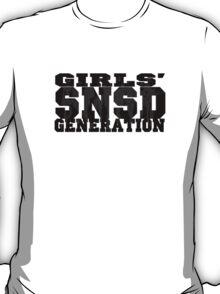 SNSD - Girls' Generation Silhouette T-Shirt