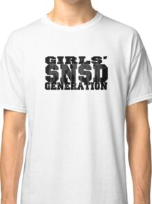 SNSD - Girls' Generation Silhouette Classic T-Shirt