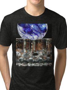 Glass On Glass.. Tri-blend T-Shirt
