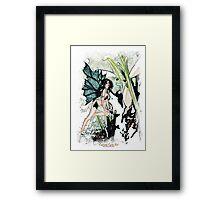 'Snowdrop Fairy' Framed Print