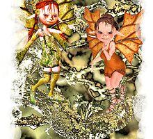 'Tree Fairies' by Pixelbloke