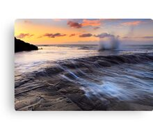 """""""Incoming"""" Canvas Print"""