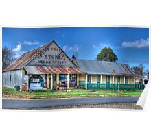 Great Western Store, Hill End, NSW, Australia Poster