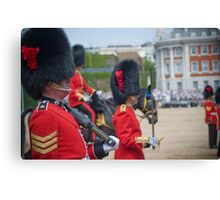 irish guards Canvas Print