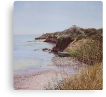 Along the coastal trail Canvas Print