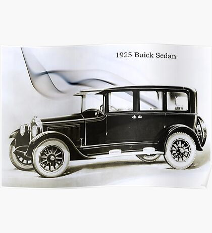1925 Buick Poster