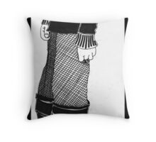Selv Portraid ov Me wid Cold Throw Pillow