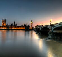 Palace of Westminster by Babul Bhatt