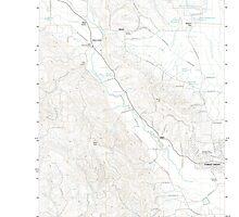 USGS Topo Map Oregon Gales Creek 20110906 TM by wetdryvac